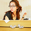 Women's Heart Diamond Studs