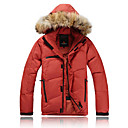 AD-2177 Waterproof VALIANLY Outdoor Men's Skiing Down Jacket