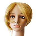 100% Indian Remy Hair Blonde Silky Straight Short Wigs