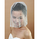 Gorgeous Bridal Net With Imitation Pearl Women's Birdcage Veils