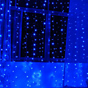 2Mx1.2M Blue Love LED String Light with 120 LEDs