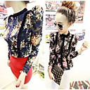 Women's Stand Collar Lace Blouse Shirt
