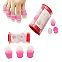 10pcs Rubber UV Nail Remover UV Kit