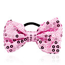 Women's Sequin Bow Hair Tie
