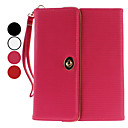 Protective PU Leather Bag Case with Hand Strap and Stand for iPad 2 and The New iPad (Assorted Colors)