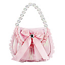 Lovely Satin with Bowknot Flower Girls Bag For Children