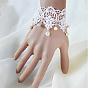 Women's Vintage Lace Pearl Bracelet