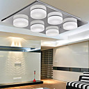 3W Modern Glass LED Ceiling Light With 6 Lights