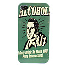 Handsom Man Pattern Hard Case for iPhone 4/4S