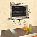 Vintage Board Blackboard Natuur Wall Stickers