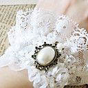 Vintage Lace Dames Parel Ring Armband