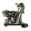 Pattern Brass Tattoo Machine Gun