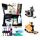 2 Tattoo Machine Guns Kit witn One Tattoo Case