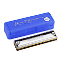 Kaine - (K1003) Blues Harp Harmonica 10 Holes/20 Tones