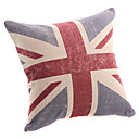 Modern UK Style Linen Decorative Pillow Cover