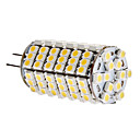 G4 6W 120x3528 SMD 420-450lm 3000-3500K bianco caldo lampadina LED Light Corn (12V)