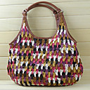 Donna Multi-color Scontornabile Woven Tote