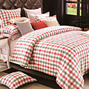 Grace Plaid Full 3-Piece Duvet Cover Set