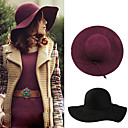 Women's Fashion Wool Tweed Hat