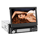 7 polegadas Touch Screen 1 Din Car DVD Player com Rdio, SD