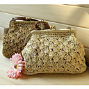 Women's Vintage Woven Crossbody Bag