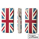 Ifans UK Flag carregador de bateria de alimentao externa para o iPhone 4 4S (1450 mAh, MFi License)