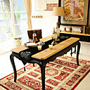 Swan Pattern Black velet Table Runner with Diamond