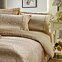 Xavier Jacquard Full / Queen 4-Piece Duvet Cover Set