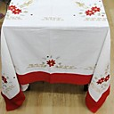 Classic Cotton Polyester Blend White Table Cloths