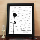 Personalized Signature Frame - Rose (Includes Frame)