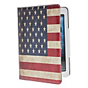 Retro Style The Old Glory Pattern Durable PU Leather Case with Stand for iPad mini