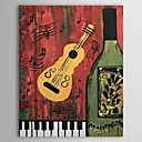 Hand Painted Oil Painting Still Life Musical Instrument 1303-SL0060