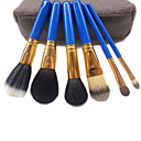 6Pcs Blue Brush Tarvel Set with Free Portable Bag