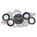 "24"" Diamond Design Acrylic Wall Clock"