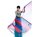 Performance Dancewear Colorful Polyester Belly Dance Veil For Ladies
