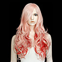 Lolita Wig Inspired by Hot Baby Pink and Red Mixed Color 60cm Punk
