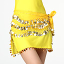 Performance Dancewear Chiffon with Coins Belly Dance Belt For Ladies More Colors