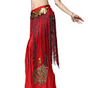 Performance Dancewear Chiffon with Long Tassels Belly Dance Belt For Ladies
