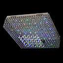 Crystal Beaded Ceiling Light with 45 Colourful LEDs and 12 G4 Bases