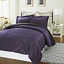 3PCS Mina Wave Jacquard Duvet Cover Set