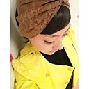 Women's Khaki All Lace Wide Hair Band