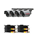 Kits de cmaras de CCTV con cuatro Cmara 420TVL Sony CCD