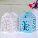 Classic Cross Laser cut Favor Box - Set Of 12(More Colors)