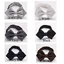 Men's Fashion Pure Color Rhombus Grid Bow-tie