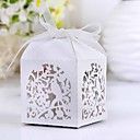 Fine Cutout Bird Laser Cut Favor Box (Set of 12)