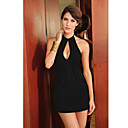 Elegant Halter Night Dress(Length:68cm Bust:86-102cm  Waist:58-79cm  Hip:90-104cm)