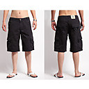 Mens Beach Casual Men in black in summer Trunks