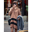 Women's Loose Hooded Knitwear