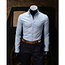 Men's Shirt Collar Fashion Long Sleeve Shirt