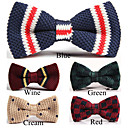 Moda Multi-padro Bow-tie dos homens